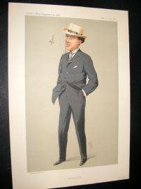 Vanity Fair Print 1912 Mr Laurence Irving, Theatre